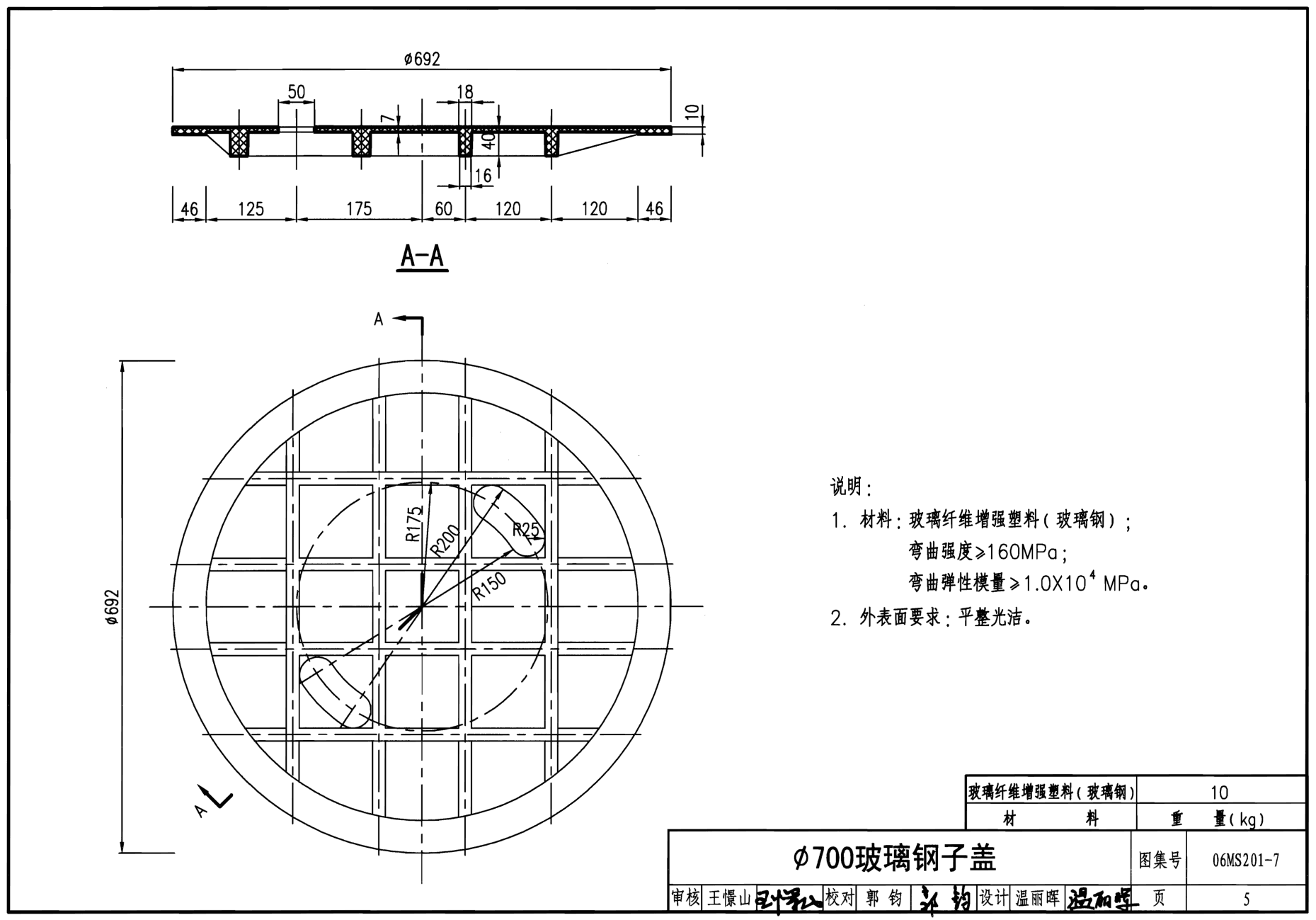 圆形市政广场平面图