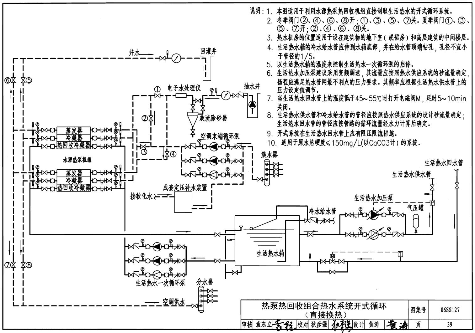 06ss127:热泵热水系统选用与安装