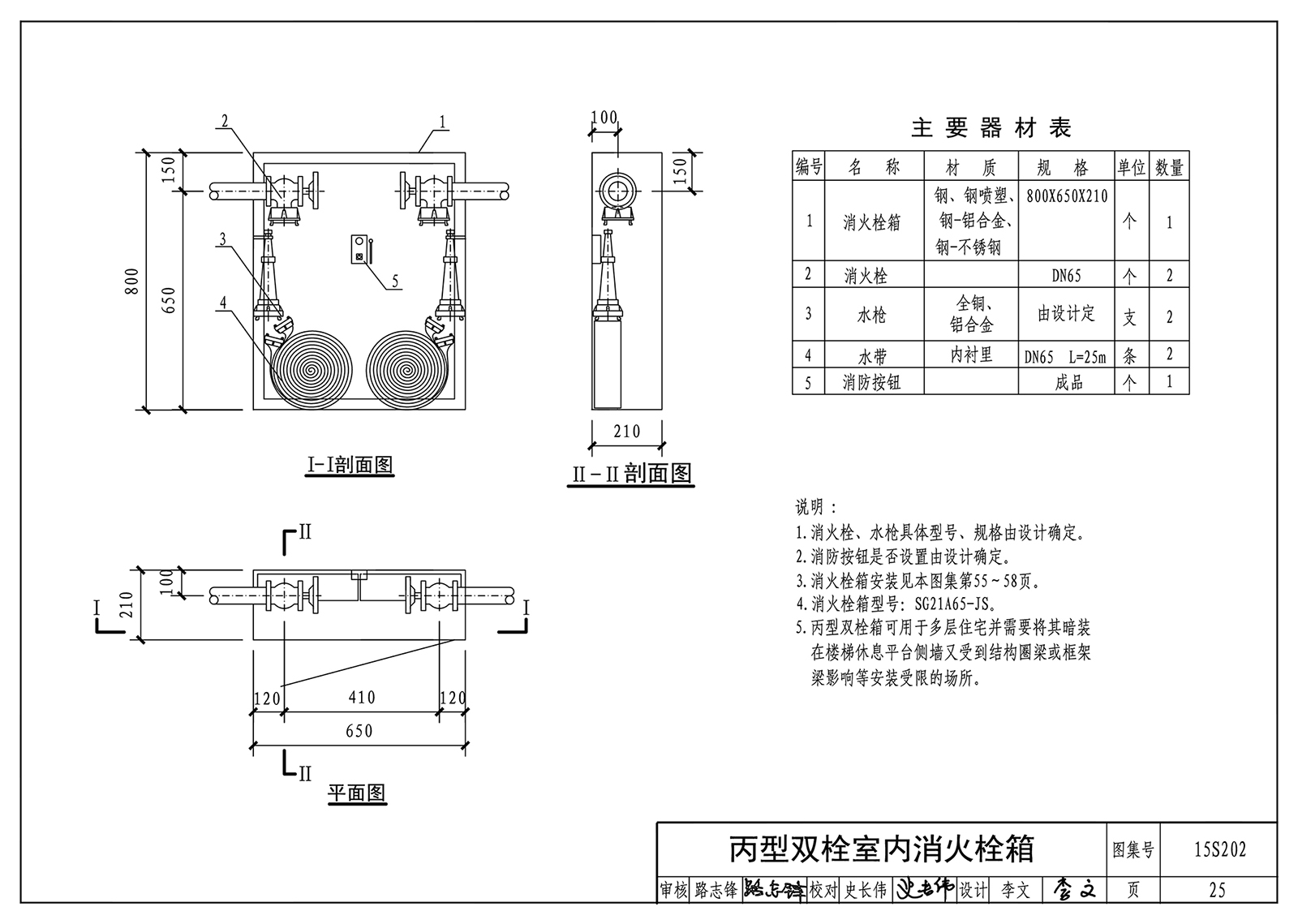 15S202:室内消火栓建筑-标准安装国家设计网素材设计cjpsd字体图片